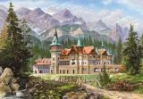 "Puzzle 3000 - Kópia ""Castle at the Foot of the Mountains"""