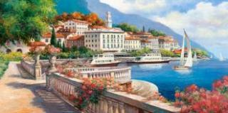 "Puzzle 4000 - ""Landscape of the Lake Como"""